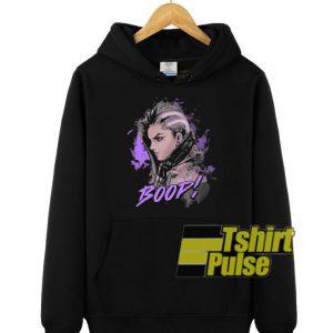 Overwatch Sombra Boop hooded sweatshirt clothing unisex hoodie