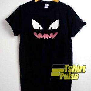 Pokemon Haunter Face t-shirt for men and women tshirt