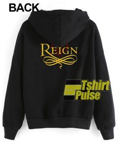 Reign Back hooded sweatshirt clothing unisex