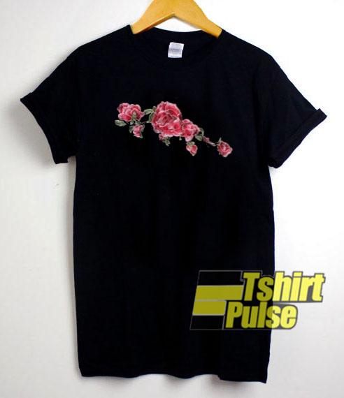 Roses Flower Ring t-shirt for men and women tshirt