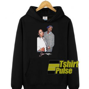 Selena And Tupac Timeless hooded sweatshirt clothing unisex hoodie