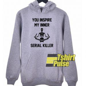 Skellington You inspire hooded sweatshirt clothing unisex hoodie
