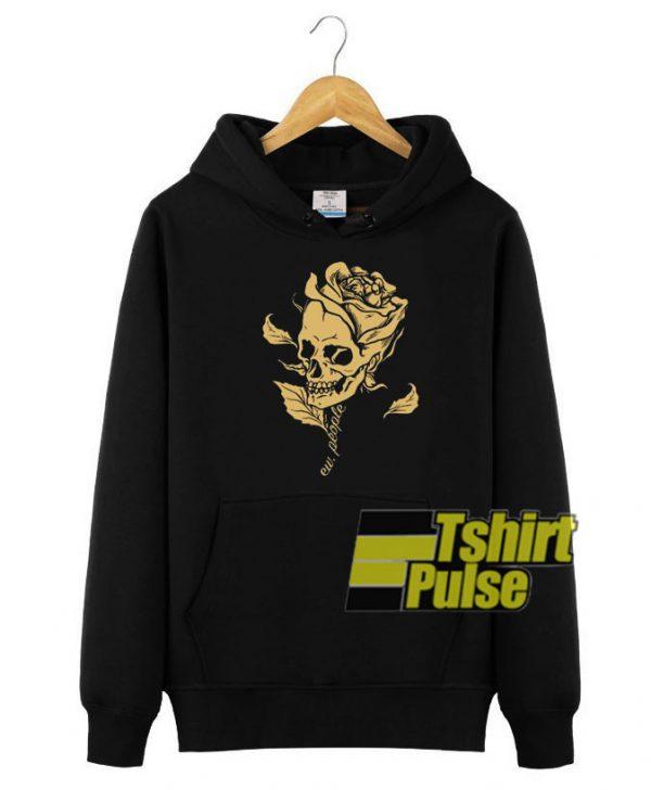 Skull Rose Ew People hooded sweatshirt clothing unisex hoodie