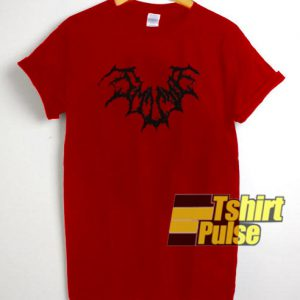Spider Web Red t-shirt for men and women tshirt