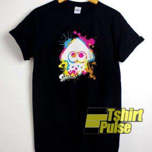 Splatoon Rainbow t-shirt for men and women tshirt