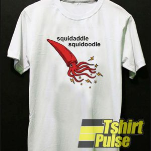 Squidadle Squidoodle t-shirt for men and women tshirt