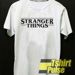 Stranger Things White t-shirt for men and women tshirt