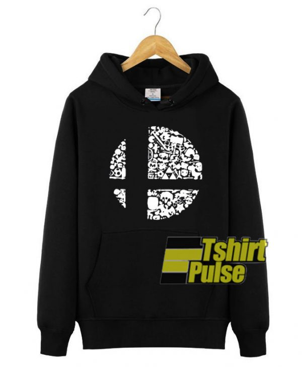 Super Smash Bros hooded sweatshirt clothing unisex hoodie