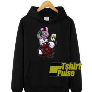 Team Hello Kitty Deadpool hooded sweatshirt clothing unisex hoodie