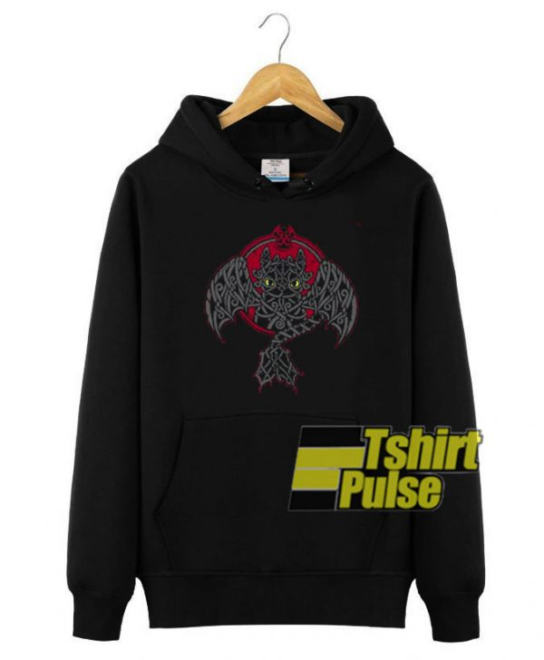 Viking Fury Toothless Dragon hooded sweatshirt clothing unisex hoodie