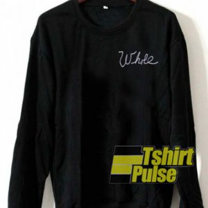 Whole Black sweatshirt