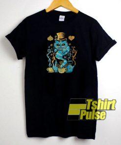 Wondercat Impressions t-shirt for men and women tshirt