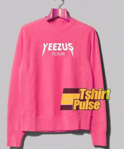Yeezus Tour Pink sweatshirt