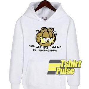 You Are Not Immune hooded sweatshirt clothing unisex hoodie