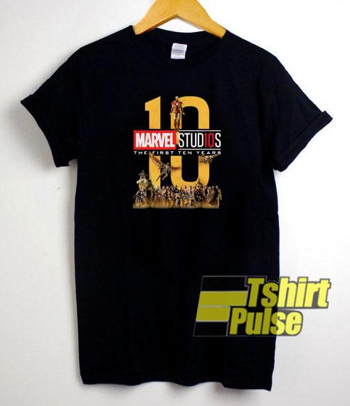 10 Marvel Studios t-shirt for men and women tshirt