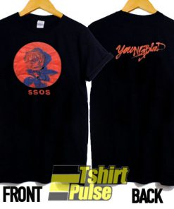 5SOS Youngblood Tour t-shirt for men and women tshirt