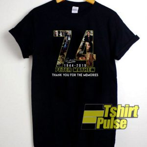 74 Peter mayhew 1944 2019 t-shirt for men and women tshirt