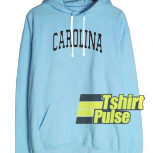 Carolina Light Blue hooded sweatshirt clothing unisex hoodie