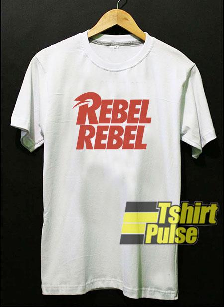 David Bowie Rebel Rebel t-shirt for men and women tshirt
