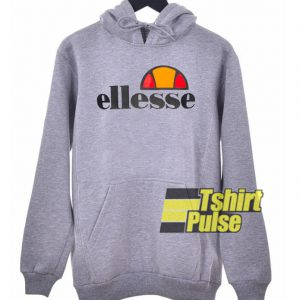 Ellesse Logo Grey hooded sweatshirt clothing unisex hoodie