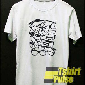 Eyeglasses Graphic Print t-shirt for men and women tshirt