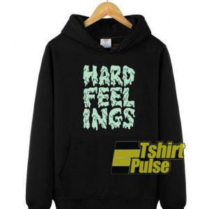 Hard Feelings hooded sweatshirt clothing unisex hoodie
