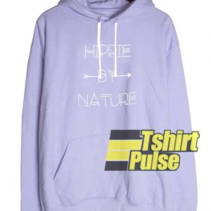 Hippie By Nature hooded sweatshirt clothing unisex hoodie