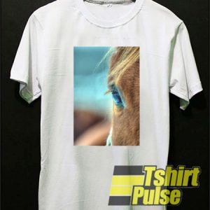 Horse Eye t-shirt for men and women tshirt