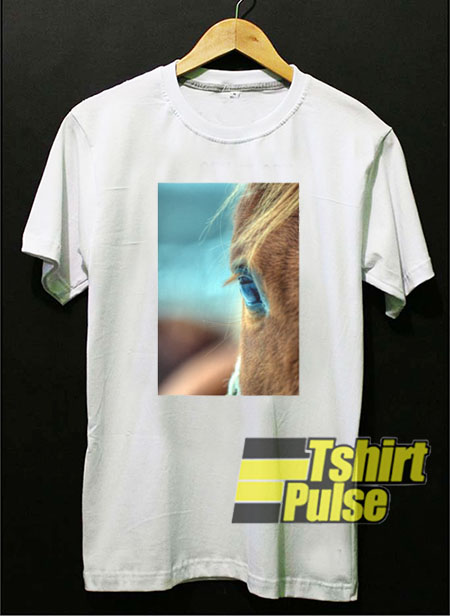 Horse Eye t shirt for men and women tshirt