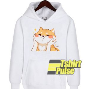 Kawaii Shiba Inu hooded sweatshirt clothing unisex hoodie