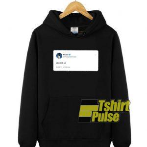 Khalid Tweet hooded sweatshirt clothing unisex hoodie