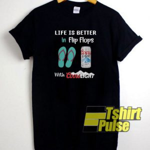 Life is Better in Flip Flops t-shirt for men and women tshirt