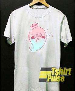 Lil Ghostie Kawaii Pastel t-shirt for men and women tshirt