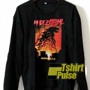 Made Extreme Godzilla sweatshirt