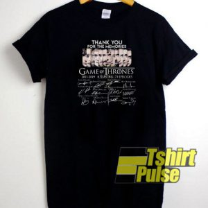 Memories Game of Thrones t-shirt for men and women tshirt