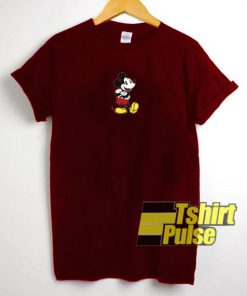 Mickey Mouse Up Foot t-shirt for men and women tshirt