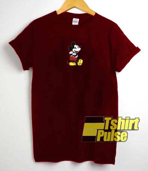 Mickey Mouse Up Foot t shirt for men and women tshirt
