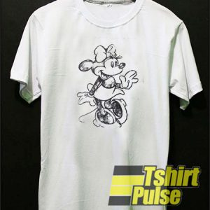 Minnie Mouse Art t-shirt for men and women tshirt