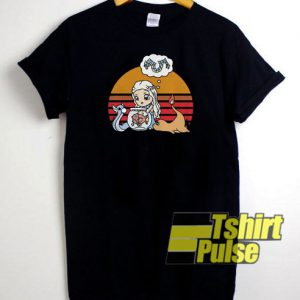 Mother of Dragons Pokemon Sunset t-shirt for men and women tshirt
