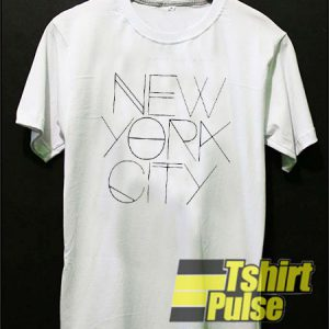 0c08a202fab New York City White t-shirt for men and women tshirt