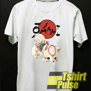 Okami Amaterasu Chibi t-shirt for men and women tshirt
