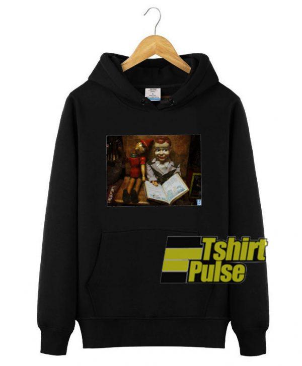 Old Friends hooded sweatshirt clothing unisex hoodie