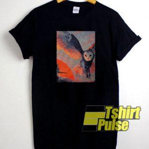Owl Hunt t-shirt for men and women tshirt