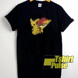 Pikachu Nostalgia t-shirt for men and women tshirt