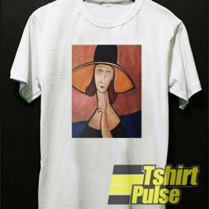 Portrait Of a Woman With Hat t-shirt for men and women tshirt