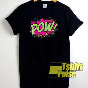 Pow Cartoon t-shirt for men and women tshirt
