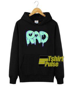 Rad Melted hooded sweatshirt clothing unisex