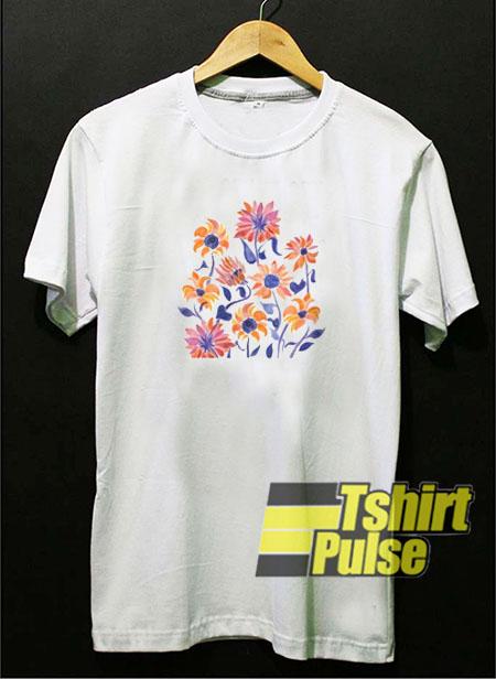 Sunflowers Sunset Palette t-shirt for men and women tshirt