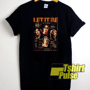The Beatles Let It Be t-shirt for men and women tshirt
