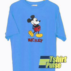 Vintage Mickey Mouse t-shirt for men and women tshirt